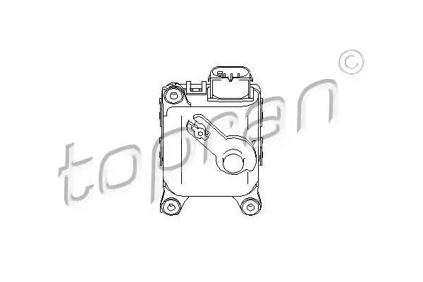 111093 TOPRAN Регулировочный элемент, смесительный клапан