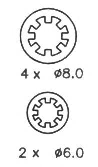 FSB401 FERODO Комплект тормозных колодок