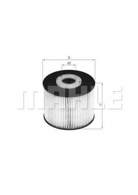 Топливный фильтр MAHLE/KNECHT KX331D