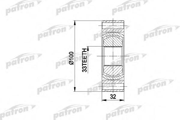 PCV3001 PATRON ШРУС