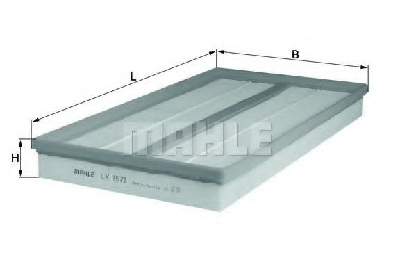 Воздушный фильтр MAHLE/KNECHT LX1573