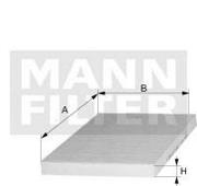CU3569 MANN Фильтр, воздух во внутренном пространстве