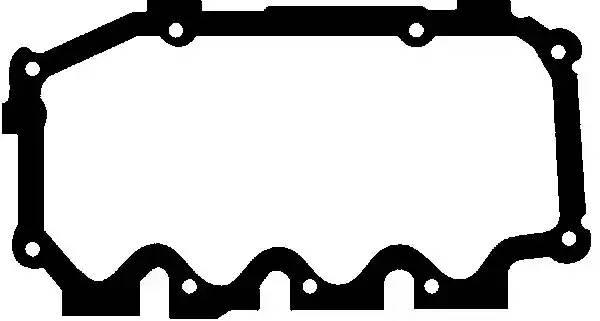 X5313001 GLASER Прокладка, крышка головки цилиндра