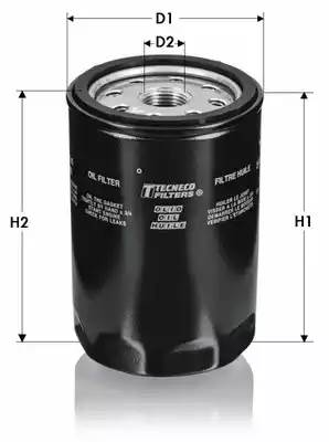 OL518 TECNECO Масляный фильтр