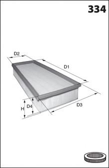 ELP3779 MECAFILTER Воздушный фильтр