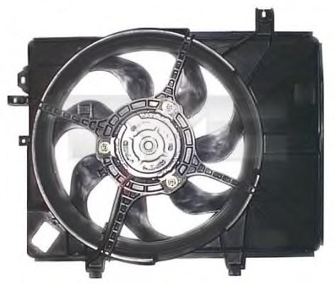 8131002 TYC Вентилятор, охлаждение двигателя