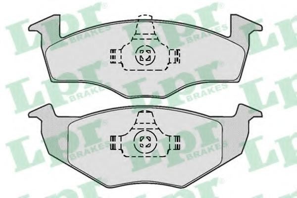 Комплект тормозных колодок, дисковый тормоз LPR 05P667