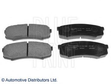 ADT34280 BLUE PRINT Комплект тормозных колодок, дисковый тормоз