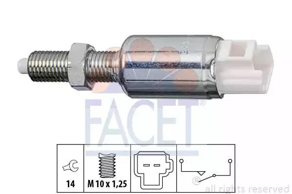 71259 FACET Выключатель, привод сцепления (Tempomat)