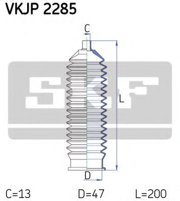 VKJP2285 SKF Комплект пылника, рулевое управление