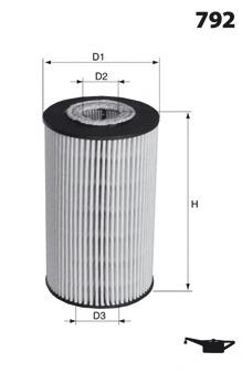 ELH4312 MECAFILTER Масляный фильтр