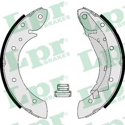 07165 LPR Комплект тормозных колодок