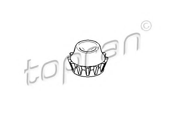 108664 TOPRAN Опорное кольцо, опора стойки амортизатора