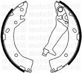 530177 METELLI Комплект тормозных колодок