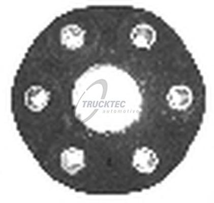 0234023 TRUCKTEC Шарнир, продольный вал