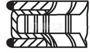 01202N0 KNECHT Комплект поршневых колец
