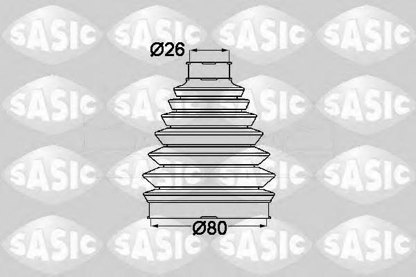 1904013 SASIC Пыльник шруса