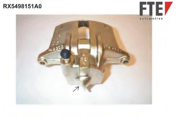 Тормозной суппорт FTE AUTOMOTIVE RX5498151A0