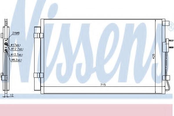 940392 NISSENS Конденсатор
