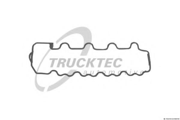 0210075 TRUCKTEC Прокладка, крышка головки цилиндра