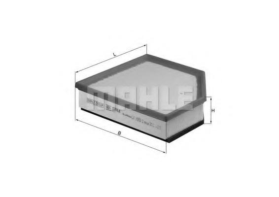 Воздушный фильтр MAHLE/KNECHT LX15932