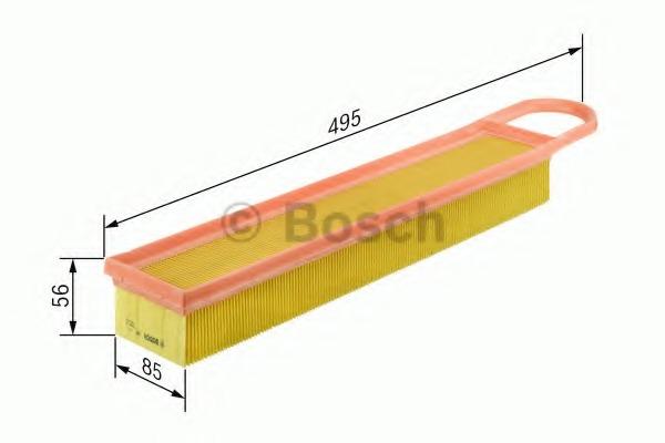 F026400050 BOSCH Фильтр воздушный двигателя