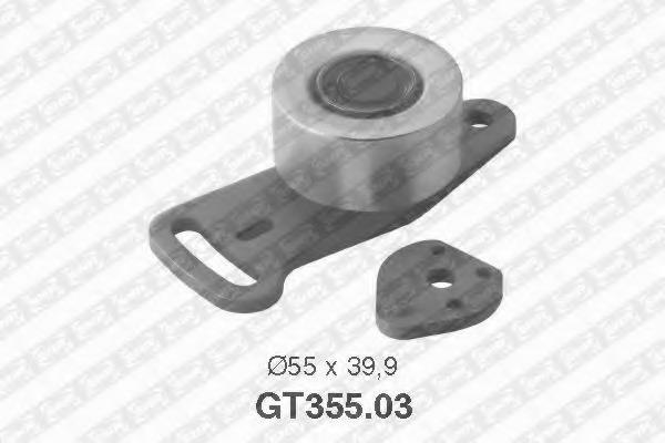 Натяжной ролик, ремень ГРМ NTN-SNR GT35503