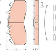 GDB5096 TRW Колодки тормозные передние