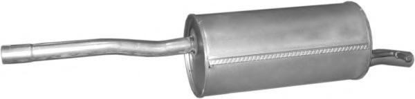 0210 POLMOSTROW Глушитель задняя часть