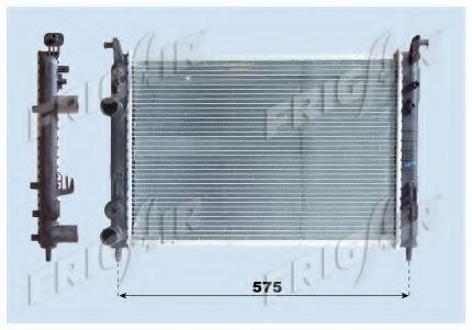 01043045 FRIG AIR Радиатор, охлаждение двигателя
