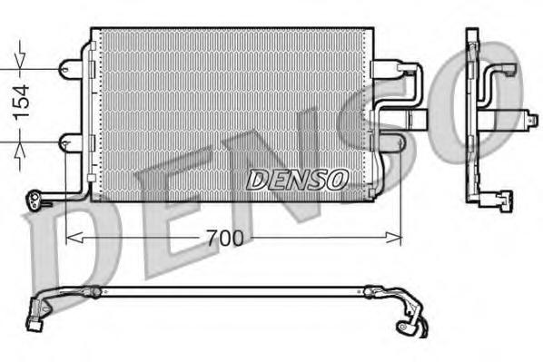 DCN32017 DENSO Конденсатор, кондиционер