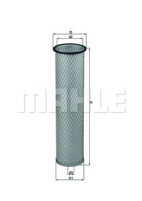 LXS214 MAHLE Фильтр добавочного воздуха