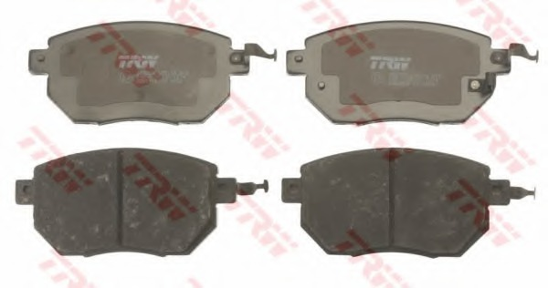 GDB3416 TRW Колодки тормозные передние