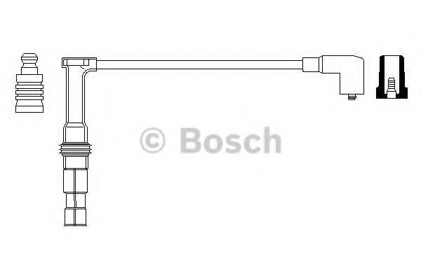 0356912978 BOSCH Провод высоковольтный