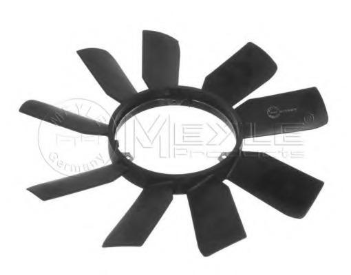 0140200025 MEYLE Крыльчатка вентилятора, охлаждение двигателя
