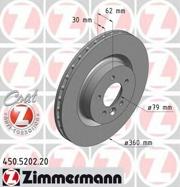 450520220 ZIMMERMANN Тормозная система