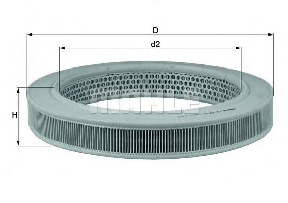 LX754 KNECHT Воздушный фильтр