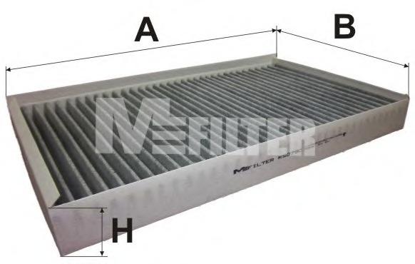 Фильтр, воздух во внутренном пространстве M-FILTER K9079C