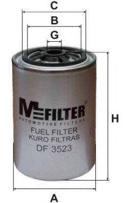 Топливный фильтр M-FILTER DF3523