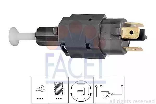 71082 FACET Выключатель фонаря сигнала торможения