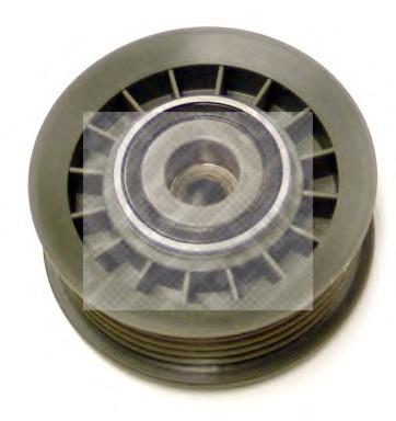 24895 MAPCO Паразитный / ведущий ролик, поликлиновой ремень