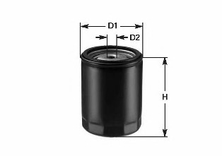 DO1815 CLEAN FILTERS Масляный фильтр
