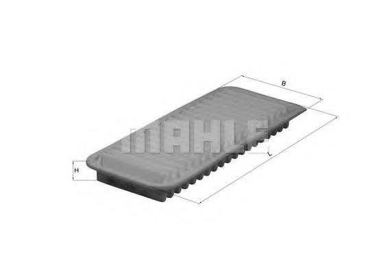LX2751 MAHLE/KNECHT Фильтр воздушный