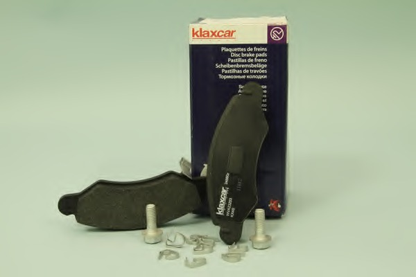 24860Z KLAXCAR Комплект тормозных колодок, дисковый тормоз