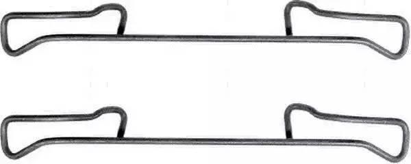 8DZ355201191 HELLA комплект принадлежностей, тормозной суппорт