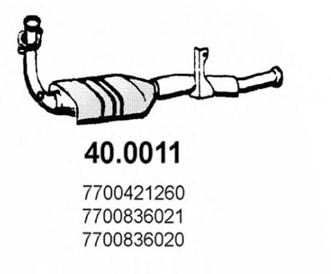 400011 ASSO Катализатор