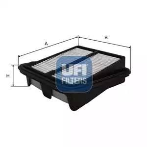 3049700 UFI Воздушный фильтр