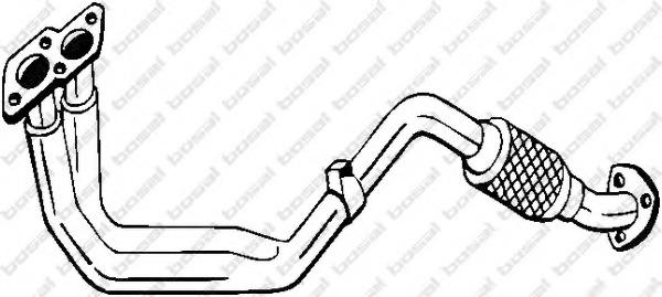 753171 BOSAL Труба выхлопного газа