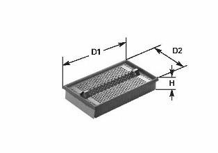 Фильтр воздушный CLEAN FILTERS MA1011
