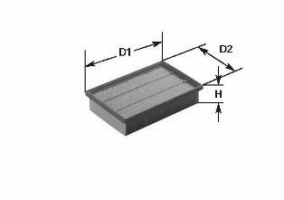 MA1004 CLEAN FILTER Воздушный фильтр